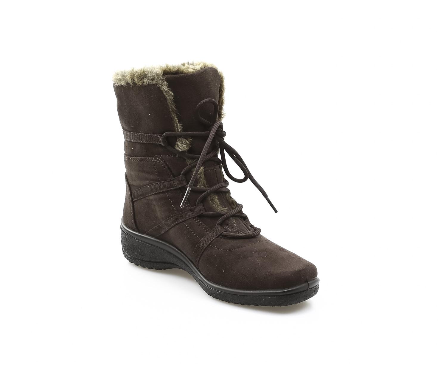 cacb0e4ebabb ARA - Kotníčky - Dámska obuv šnurovacia zateplená