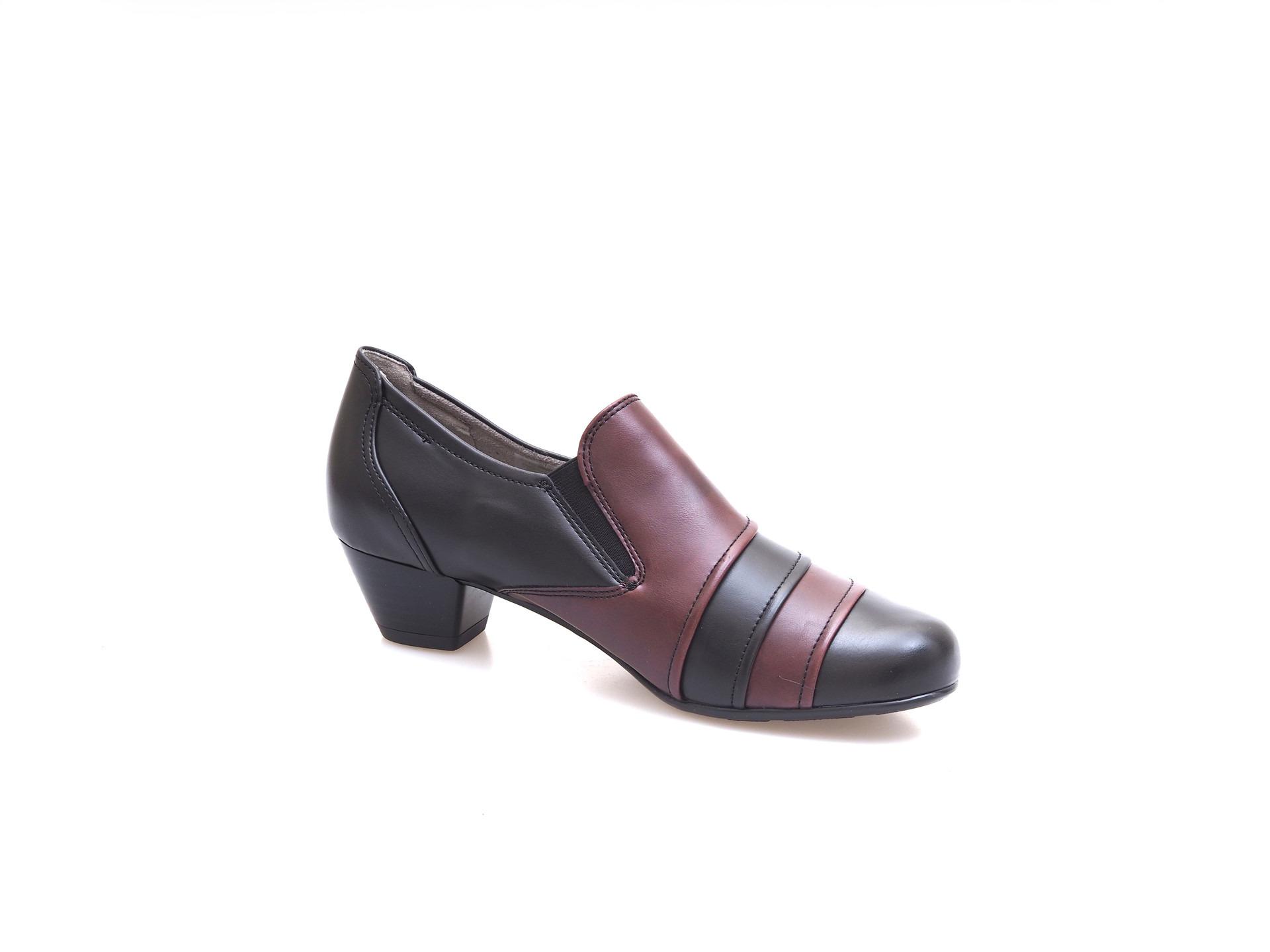 8870f314cc ARA - Poltopánky - Čierna dámska obuv členková Jenny