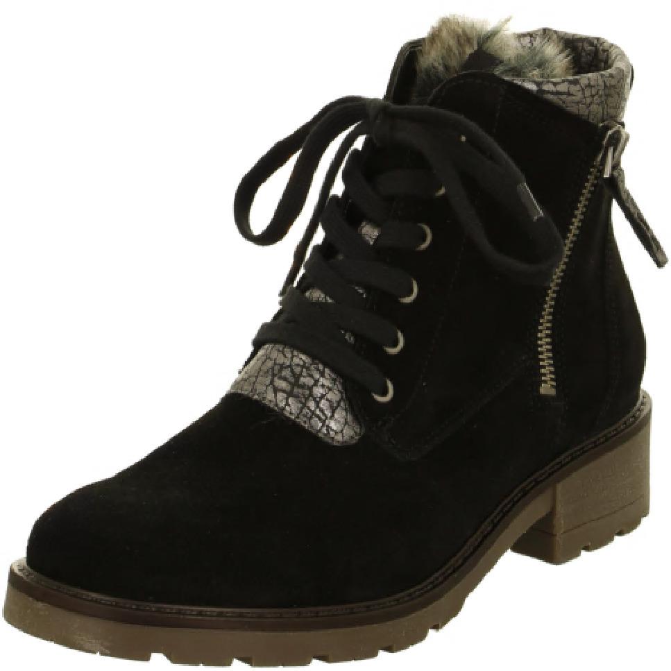 bffdc9a6064 ARA - Kotníčky - Dámska šnurovacia obuv zateplená značky Jenny