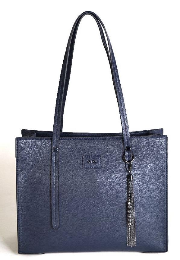 863c95da1 ARA - Dámske kabelky - Modrá dámska kabelka cez plece značky Ara