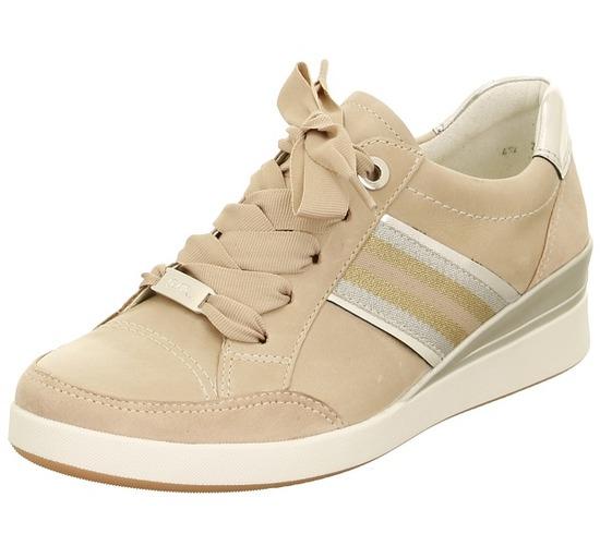ARA - Tenisky - Béžová dámska obuv športová-vychádzková značky Ara 5a193597a0c