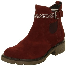 6a124061e0 Bordová dámska členková obuv značky Jenny Doprava zadarmo