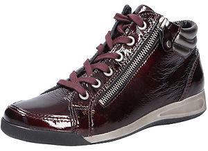 b759a9d7fb ARA - Tenisky - Bordová šnurovacia obuv značky Ara