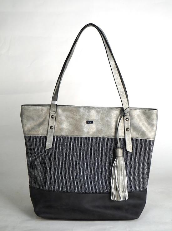 8b0d290ef ARA - Dámske kabelky - Čierna dámska kabelka cez plece značky Ara