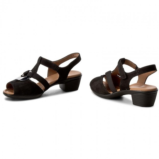 f4e160e05 ... Čierne dámske sandále na nízkom podpätku značky Ara zľava - 20% Popis28 Doprava  zadarmo