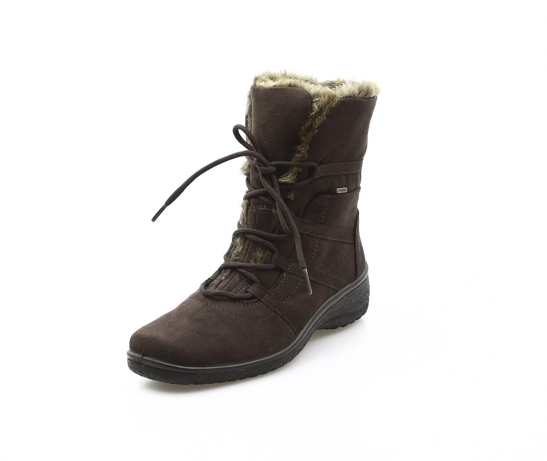 e3877fd367 ARA - Kotníčky - Dámska obuv šnurovacia zateplená