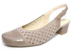 068529780631 ARA - Sandále - Dámska sandála na nízkom podpätku značky Ara