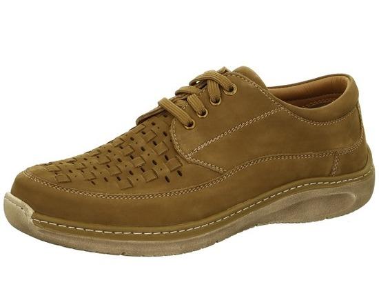 02e221272e ARA - Poltopánky - Hnedá pánska šnurovacia obuv značky Ara men