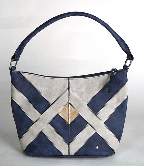 1d20a9b2bd ARA - Dámske kabelky - Modrá dámska kabelka cez plece značky Ara