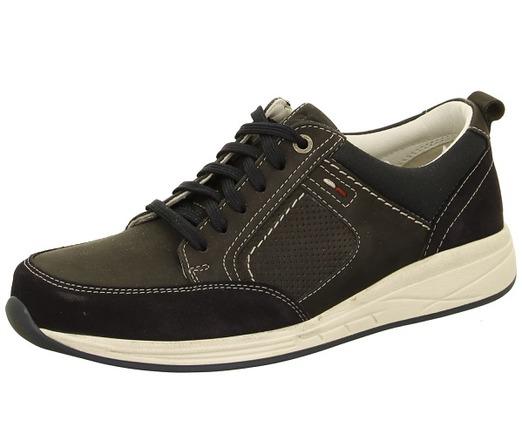 Modrá pánska obuv športová-vychádzková značky Ara men ... fa4a06632e6